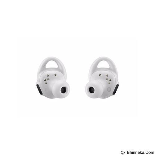 SAMSUNG Gear IconX White + Gear Fit2 Black Short Strap - Earphone Ear Bud
