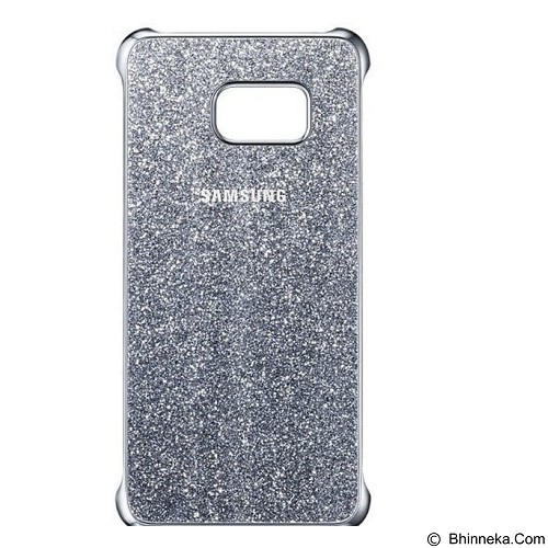 SAMSUNG Glitter Case for Galaxy S6 Edge Plus - Silver (Merchant) - Casing Handphone / Case