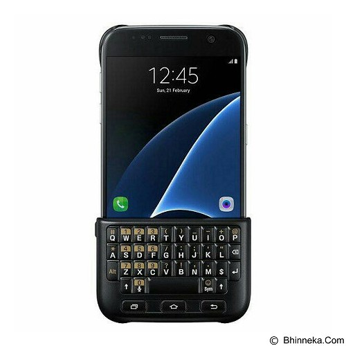 SAMSUNG Keyboard Cover for Galaxy S7 Edge [EJ-CG935UBEGWW] - Black - Gadget Keyboard