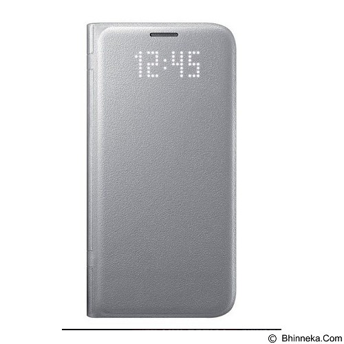 SAMSUNG LED Wallet for Galaxy S7 Flat - Silver (Merchant) - Casing Handphone / Case