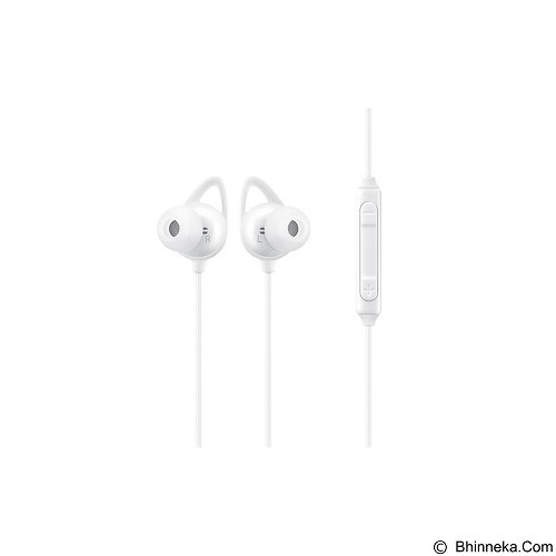 SAMSUNG Level In with ANC In-Ear Wired Earphones [EO-IG930BWEGWW] - White - Headset Bluetooth