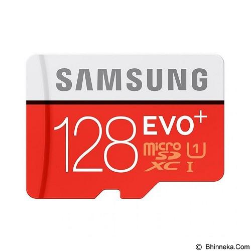 SAMSUNG MicroSDXC EVO Plus Class 10 UHS-1 128GB with SD Adapter (Merchant) - Micro Secure Digital / Micro Sd Card