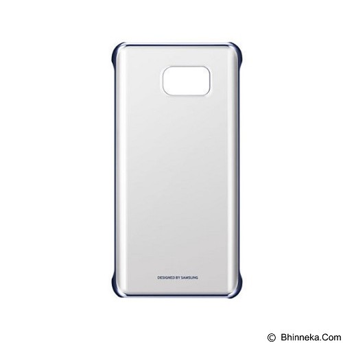 SAMSUNG Noble Clear Case for Galaxy Note 5 - Blue/Black (Merchant) - Casing Handphone / Case