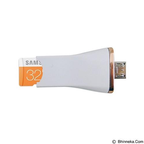 SAMSUNG OTG 3in1 Evo 32GB - White (Merchant) - Usb Flash Disk Dual Drive / Otg