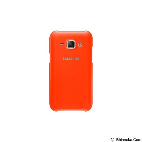 SAMSUNG Protective Cover for Galaxy J1 [EF-PJ100BOEGWW] - Orange - Casing Handphone / Case