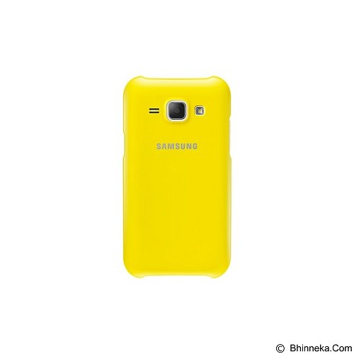 SAMSUNG Protective Cover for Galaxy J1 [EF-PJ100BYEGWW] - Yellow - Casing Handphone / Case
