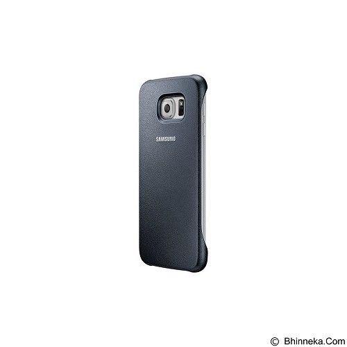 SAMSUNG Protective Cover for Galaxy S6 [EF-YG920BBEGWW] - Blue Black - Casing Handphone / Case