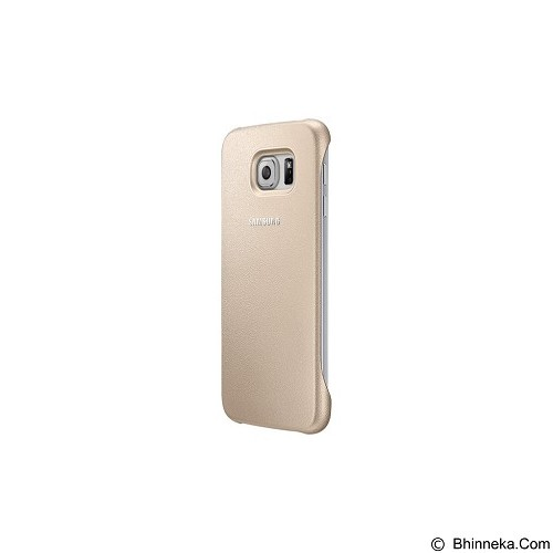 SAMSUNG Protective Cover for Galaxy S6 [EF-YG920BFEGWW] - Gold - Casing Handphone / Case