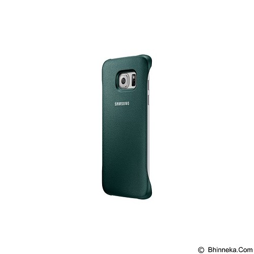 SAMSUNG Protective Cover for Galaxy S6 Edge [EF-YG925BGEGWW] - Green - Casing Handphone / Case