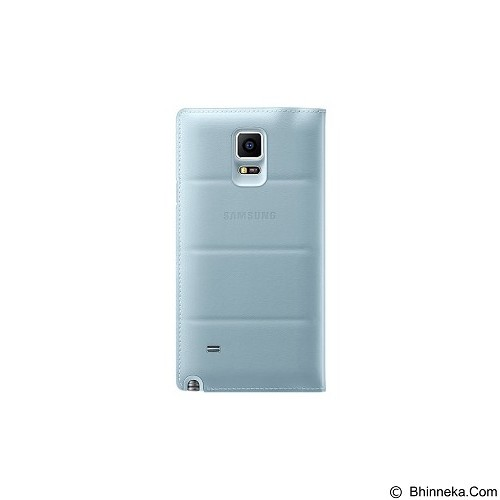 SAMSUNG S View Cover for Galaxy Note 4 [EF-CN910BMEGWW] - Mint Blue - Casing Handphone / Case