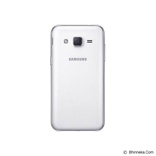 SAMSUNG Galaxy J2 [SM-J200G] - White - Smart Phone Android
