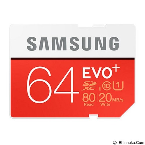SAMSUNG SDXC EVO+ 64GB - Micro Secure Digital / Micro Sd Card