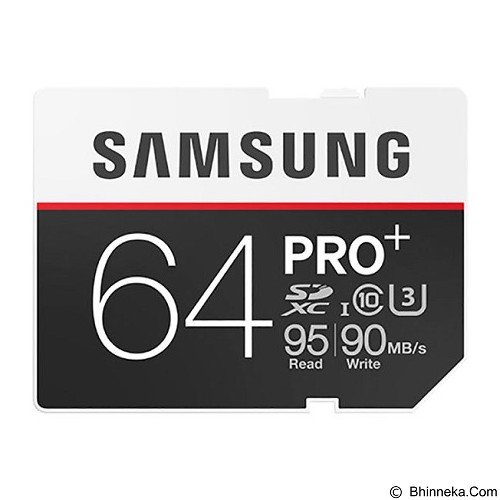 SAMSUNG SDXC PRO+ 64GB - Micro Secure Digital / Micro Sd Card