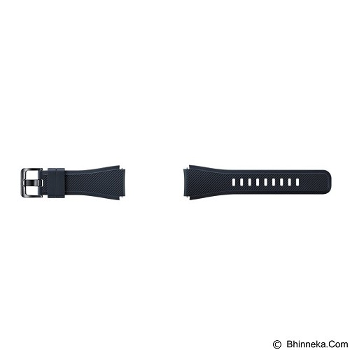 SAMSUNG Silicon Strap for Samsung Gear S3 - Black (Merchant) - Casing Smartwatch / Case