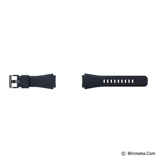 SAMSUNG Silicon Strap for Samsung Gear S3 - Black (Merchant) - Casing Smartwatch / Case
