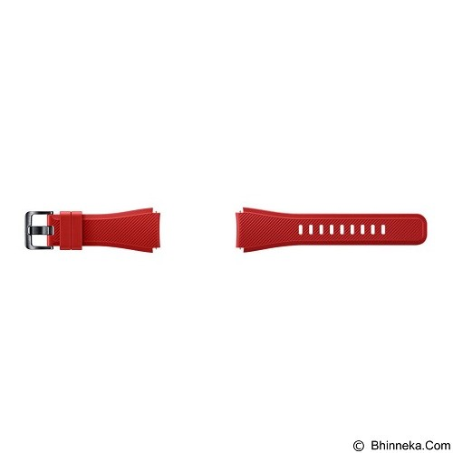 SAMSUNG Silicon Strap for Samsung Gear S3 - Red (Merchant) - Casing Smartwatch / Case