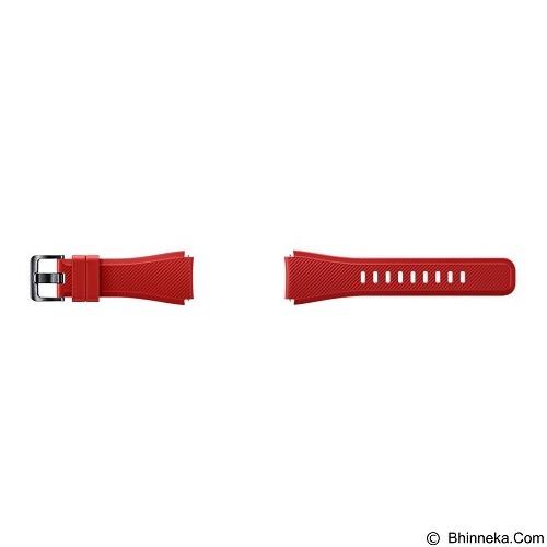 SAMSUNG Silicon Strap for Samsung Gear S3 - Red (Merchant) - Casing Smartwatch / Case