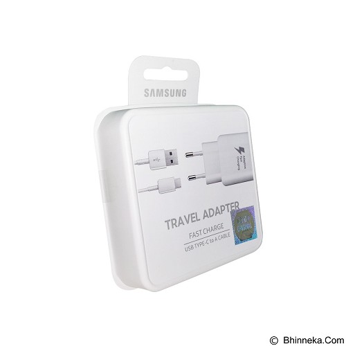 SAMSUNG Travel Adapter Fast Charging Type C - White (Merchant) - Charger Handphone