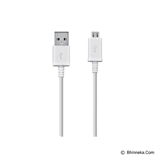 SAMSUNG USB Data Cable Micro [ECB-DU4EWEGSTD] - White - Cable / Connector USB