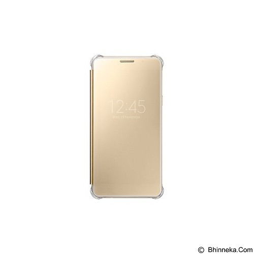 SAMSUNG View Clear Case for Galaxy A5 2016 [EF-ZA510CFEGWW] - Gold - Casing Handphone / Case