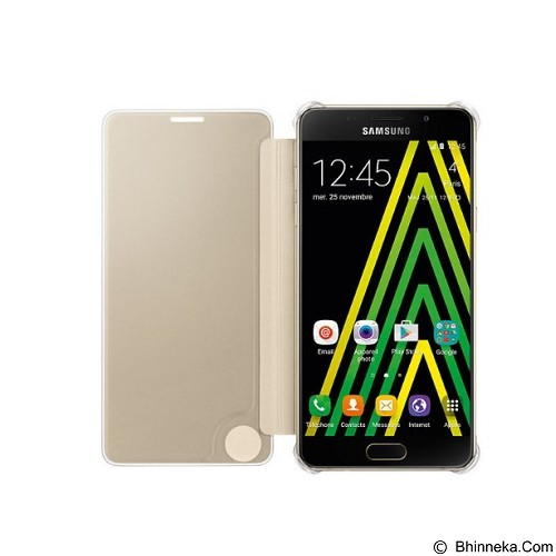 SAMSUNG View Clear Case for Galaxy A5 (2016) - Gold (Merchant) - Casing Tablet / Case
