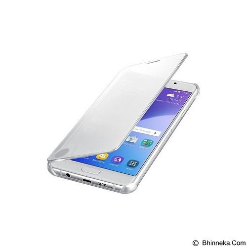SAMSUNG View Clear Case for Galaxy A7 2016 [EF-ZA710CSEGWW] - Silver - Casing Handphone / Case