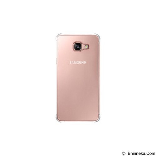 SAMSUNG View Clear Case for Galaxy A7 2016 [EF-ZA710CZEGWW] - Rose Gold - Casing Handphone / Case