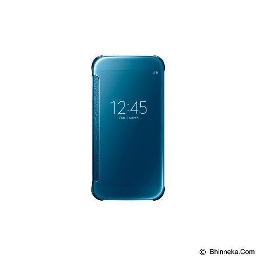SAMSUNG View Clear Case for Galaxy S6 [EF-ZG920BLEGWW] - Blue - Casing Handphone / Case