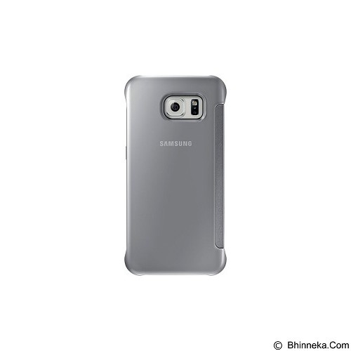 SAMSUNG View Clear Case for Galaxy S6 [EF-ZG920BSEGWW] - Silver - Casing Handphone / Case