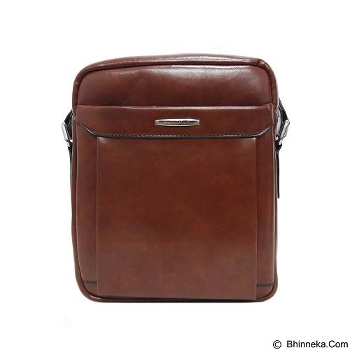 SAN PAOLO Tas Selempang Impor [3015] - Brown (Merchant) - Sling-Bag Pria