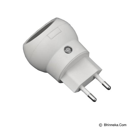 SAN TECH Lampu Tidur LED 360 Derajat Rotasi Auto Sensor 110V-240V EU Plug (Merchant) - Lampu Dinding