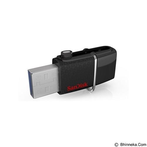 SANDISK Ultra Dual USB Drive 32 GB - Black - Usb Flash Disk Dual Drive / Otg