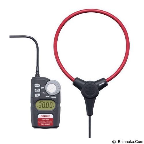 SANWA AC Clamp Meter [DCL3000R] - Tester Listrik