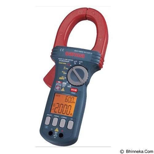 SANWA AC/DC Clamp Meter [DCM2000DR] - Tester Listrik