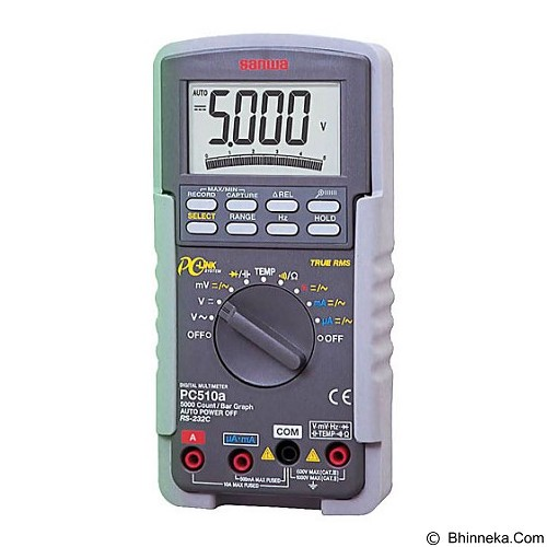 SANWA Digital Multimeter [PC510a] - Tester Listrik