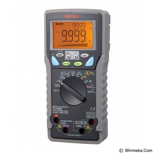SANWA Digital Multimeters [PC720M] - Alat Ukur Multifungsi
