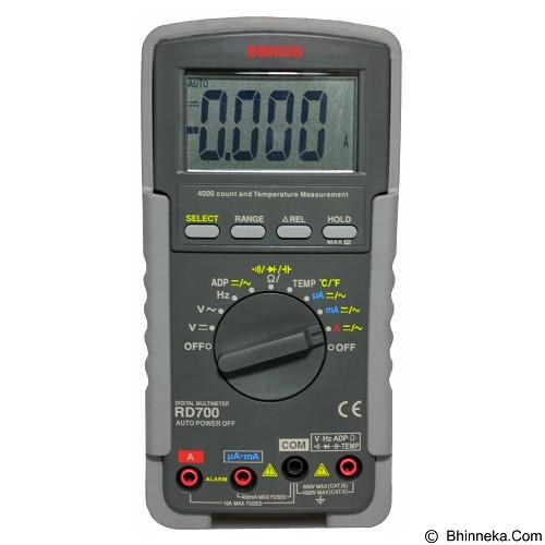 SANWA Digital Multimeters [RD700] - Alat Ukur Multifungsi