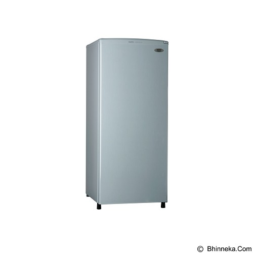 SANYO Aqua Home Freezer 6 Rak AQF S6 [HFS6LS] (Merchant) - Chest Freezer Top Open