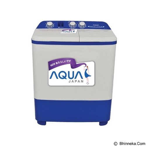 AQUA Mesin Cuci Twin Tub [QW771XT] - Mesin Cuci Twin Tub