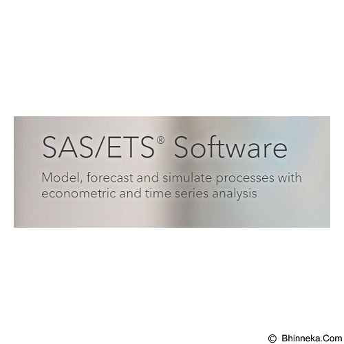 SAS ETS [7 User] - Software Office Application Licensing