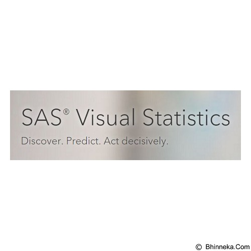 SAS Visual Statistics [4 Cores] - Software Office Application Licensing