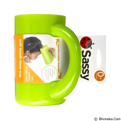 SASSY Soft Touch Rinse Cup - Green [SS 10020] (Merchant) - Baby Bath Tub and Accesories