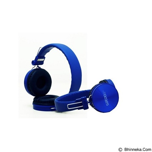 SATOO Stylish Headset with Clear Sound [SHS-XB07] - Blue (Merchant) - Headphone Portable