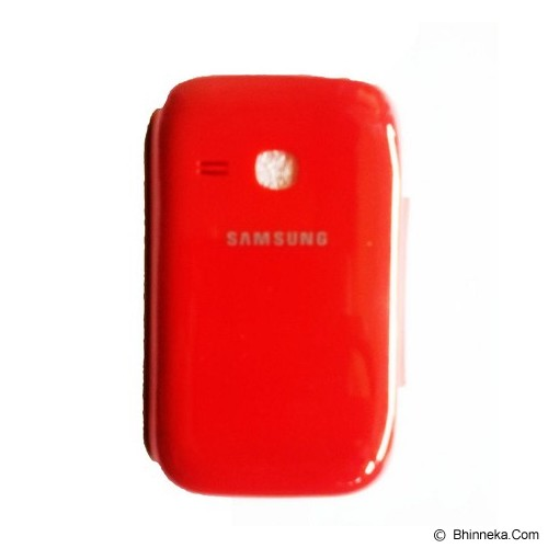 SATUEMPAT Flip Cover for Samsung Galaxy Young Duos [6312] - Red - Casing Handphone / Case
