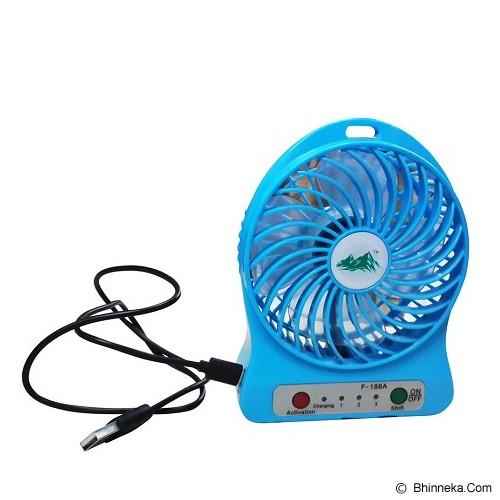 SB MINI FAN Kipas Angin Rechargeable [F-188] - USB & Portable Fan