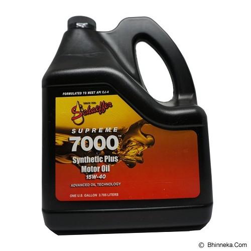 Jual Schaeffer Engine Oil 1 Gallon 15w 40 7000 Murah