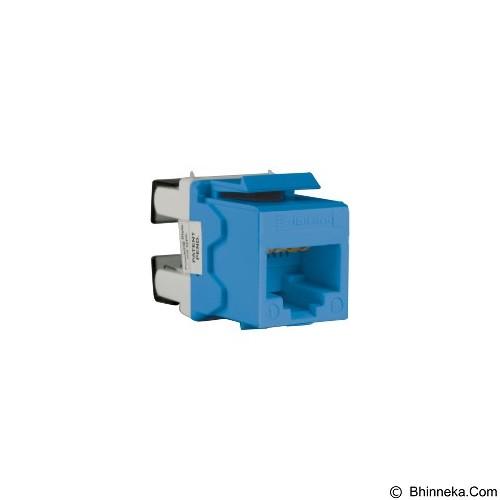 SCHNEIDER ELECTRIC Cat. 6 Keystone Modular Jack [DC6KYSTUBL] - Blue - Modular Jack