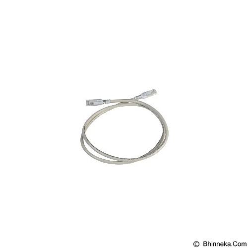 harga SCHNEIDER ELECTRIC Cat.6 UTP Patch Cord 1m [DC6PCURJ01GYM] - Grey Bhinneka