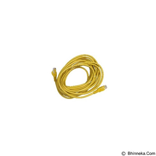 SCHNEIDER ELECTRIC Patch Cord UTP Cable Cat 5 5M [DCEPCURJ05YLM] - Yellow - Network Cable Utp