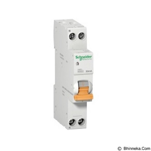 SCHNEIDER RCBO Slim Domae 1P+N 25A (Merchant) - Residual Pemutus Arus / Rcbo